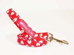Mabel & Mu Dog Leads - Peppermint Cream - from